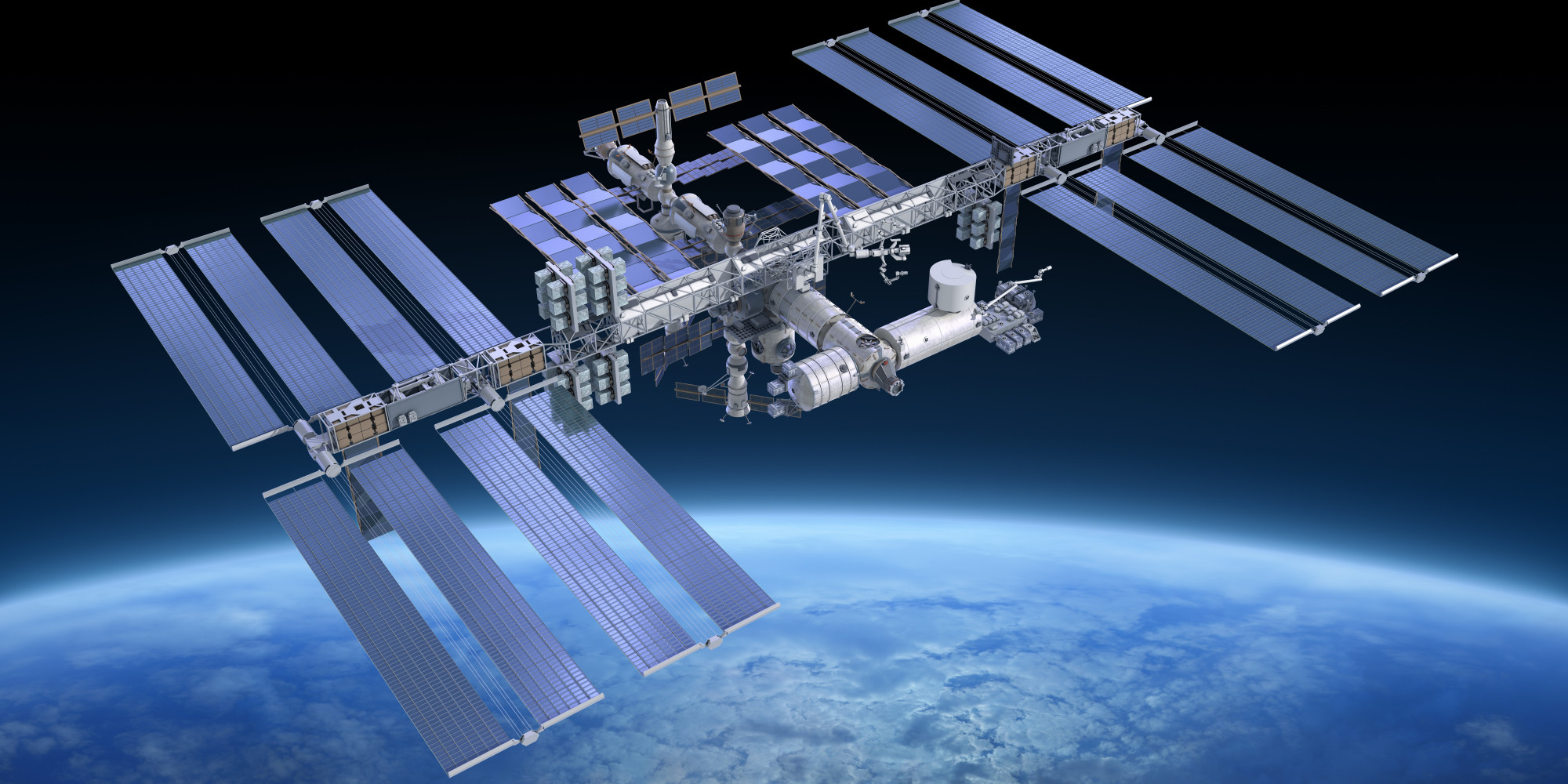 us space station - HD2000×1000