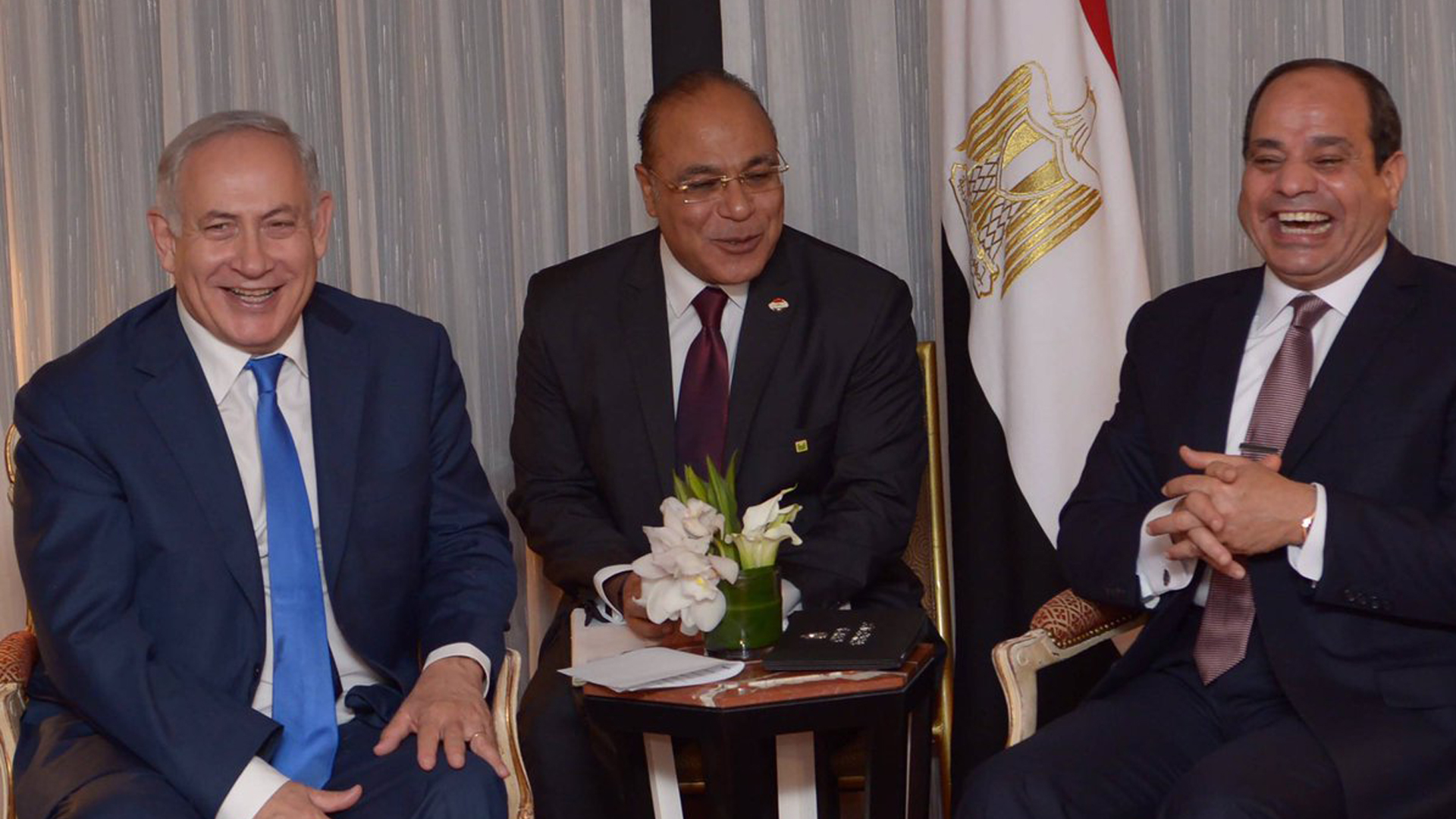 السيسي وبنيامين نتنياهو