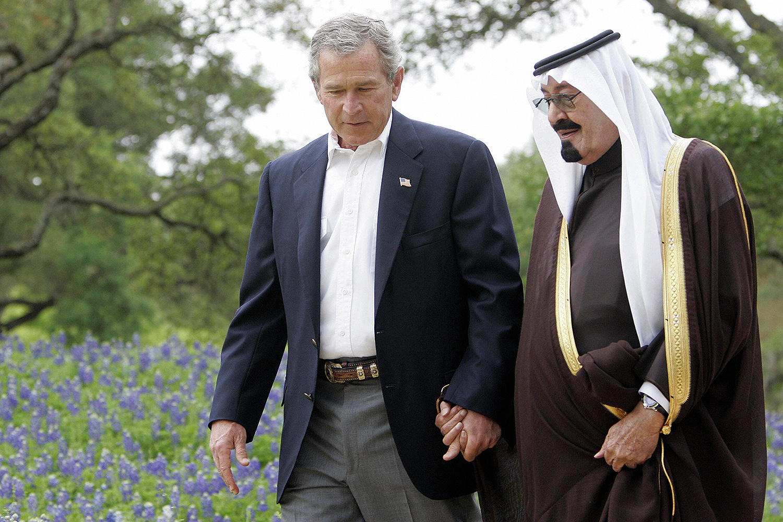 جورج بوش عبد الله