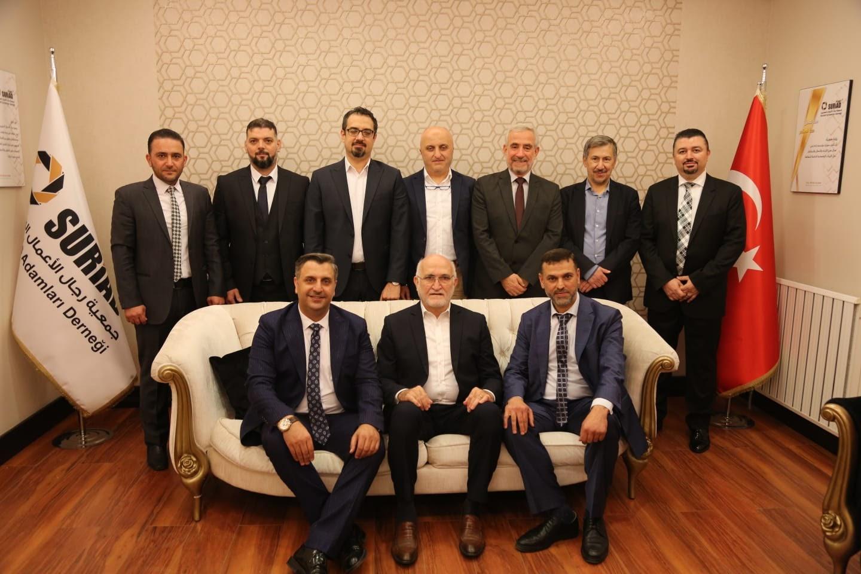 رجال أعمال في جمعية سورياد