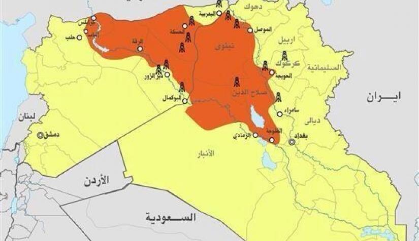أزمة العراق وداعش في 27 خريطة نون بوست